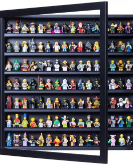 Minifig Display Frame Black