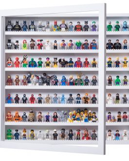 Minifig Display Frame White